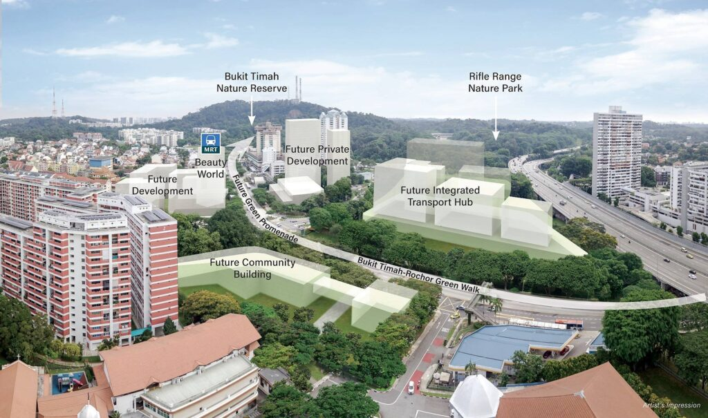 Forett at Bukit Timah - Beauty World Integrated Transport Hub Singapore