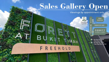 Forett at Bukit Timah View Showflat Singapore