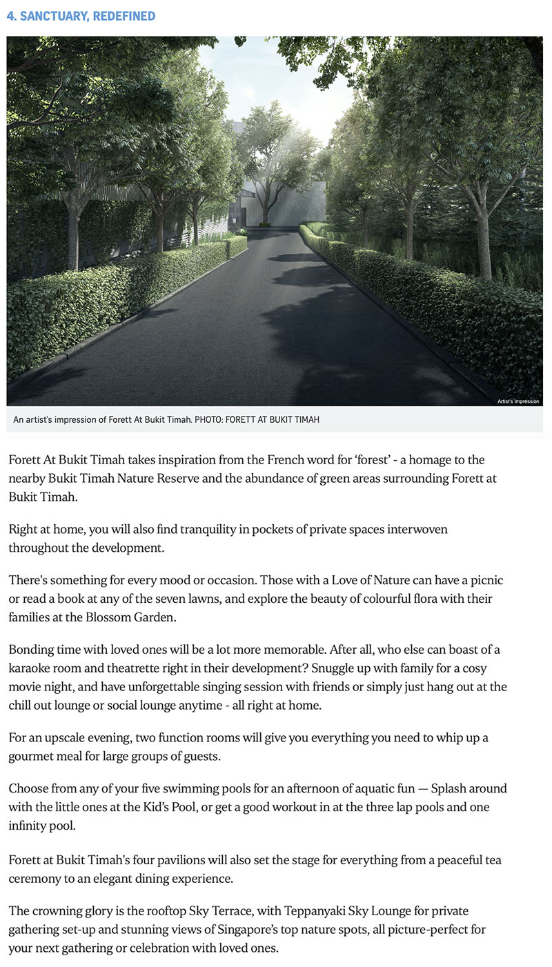 5 reasons to make Forett At Bukit Timah your next home 3